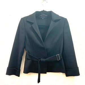 GUCCI Wool/ Cashmere Blazer w/ Notched Belt